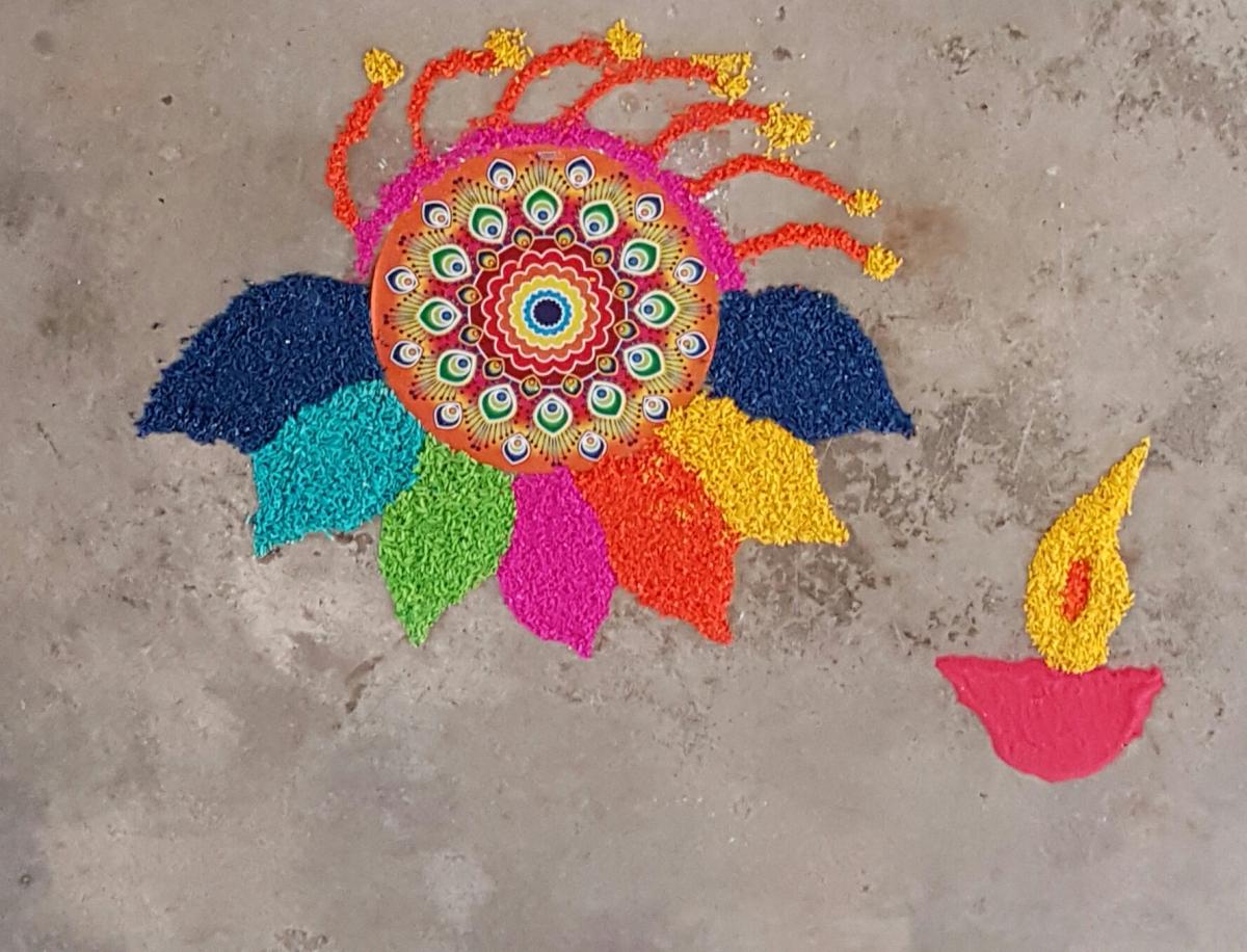 Colours, sparkles and lots of Murukkus!